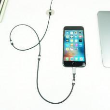 Кабель FuseChicken USB Cable to Lightning Rivet Charge 1m Black (MLC)